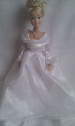 Adorable Disney Princess My 1st 'Bride' Wedding Doll